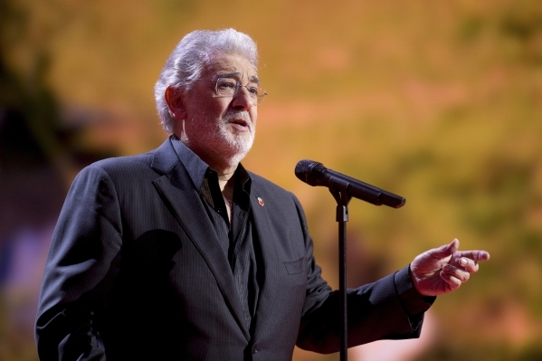 Placido Domingo is set to perform Tuesday at the Colosseum at Caesars Palace. Axel Schmidt/Reuters