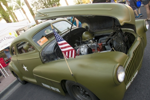 The 16th annual Super Run Classic Car Show is planned Sept. 24-27 in Henderson's Water Street District. A kickoff for the free event is slated from noon to 8 p.m. Sept. 24 at the Fiesta Hend ...