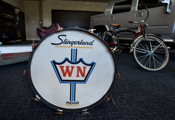 Memorabilia from Wayne Newton's career is displayed at the museum at Casa de Shenandoah on Monday, Sept. 14, 2015, in Las Vegas. The ranch at Sunset and Pecos roads in Las Vegas is scheduled ...