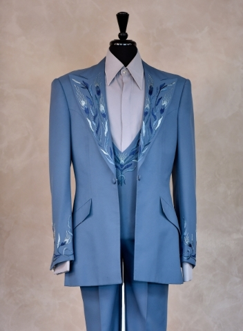 A costume from Wayne Newton's career is displayed at the museum at Casa de Shenandoah on Monday, Sept. 14, 2015, in Las Vegas. The ranch at Sunset and Pecos roads in Las Vegas is scheduled t ...