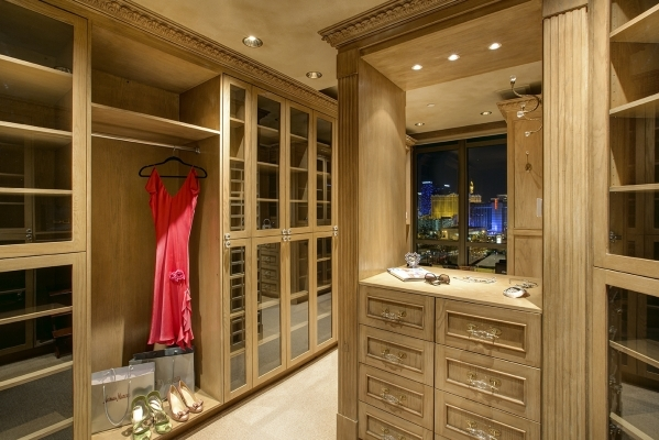 This Closet Is Featured In A Park Towers Penthouse COURTESY PHOTO