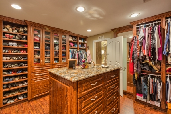 This Luxury Closet Is Showcased In A Quail Ridge Estate Home COURTESY PHOTO