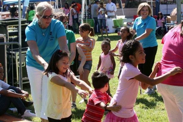 Children take part in a music program during the 2014 Healthy Kids Festival. The fourth annual event is set to mark Childhood Obesity Awareness Month from 10 a.m. to 2 p.m. Sept. 26 at Paradise Pa ...