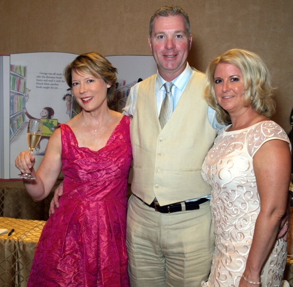 Barbara Dahl, from left, and Chris and Wendy Kaufman