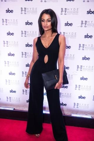 Nazanin Mandi at Hyde Bellagio Friday. (Courtesy Hyde Bellagio)