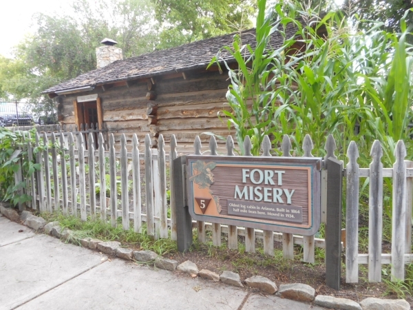 Built in the winter of 1863, Fort Misery was supposed to be a temporary shelter for a merchant who delivered the first supplies to Prescott'­s gold miners.  Jim Wright/Las Vegas Review-Journal