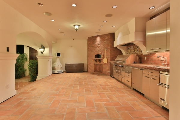 This is one of two outdoor kitchens featured at a Spring Valley estate, Casa Paradiso. The Napoli Group with Berkshire Hathaway HomeServices Nevada Properties has it listed for nearly $20 million. ...