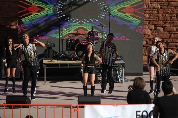Performers dance during the Pride Festival outside of the Clark County Government Center in Las Vegas Saturday, Sept. 19, 2015. ERIK VERDUZCO/LAS VEGAS REVIEW-JOURNAL Follow him @Erik_Verduzco