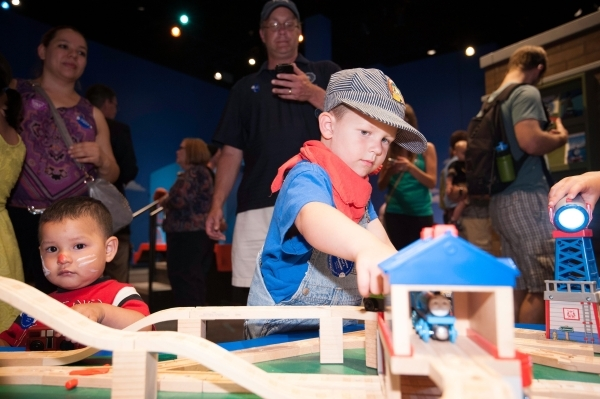 Young Engineers Hit The Track Operating Thomas Tank Engine And Other Beloved Characters On