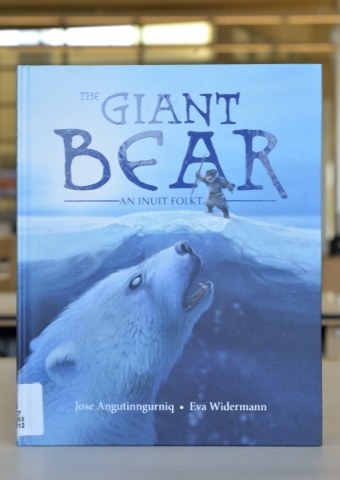 ìThe Giant Bearî is shown at the Windmill Library on Friday, Sept. 18, 2015. It is one of the books at the library that some patrons felt contained objectionable content. Bill Hughes/Las Veg ...