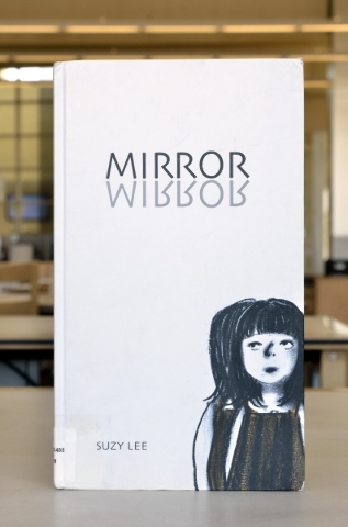 ìMirrorî is shown at the Windmill Library on Friday, Sept. 18, 2015. It is one of the books at the library that some patrons felt contained objectionable content. Bill Hughes/Las Vegas Revie ...