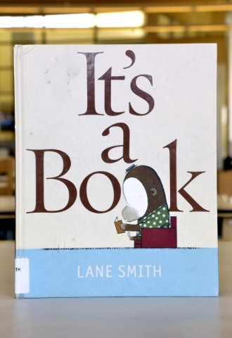 ìItís a Bookî is shown at the Windmill Library on Friday, Sept. 18, 2015. It is one of the books at the library that some patrons felt contained objectionable content. Bill Hughes/Las Veg ...