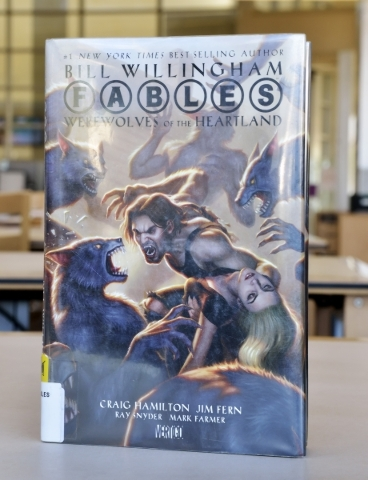 ìFables: Werewolves of the Heartlandî is shown at the Windmill Library on Friday, Sept. 18, 2015. It is one of the books at the library that some patrons felt contained objectionable content ...
