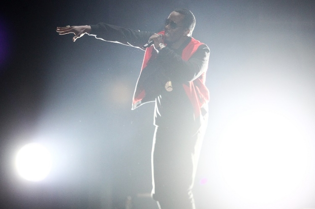 Puff Daddy performs during the iHeartRadio Music Festival at the MGM Grand Garden Arena in Las Vegas on Saturday, Sept. 19, 2015. (Chase Stevens/Las Vegas Review-Journal) Follow @csstevensphoto
