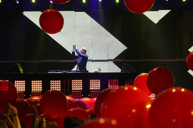 Diplo performs during the iHeartRadio Music Festival at the MGM Grand Garden Arena in Las Vegas on Sunday, Sept. 20, 2015. Chase Stevens/Las Vegas Review-Journal Follow @csstevensphoto