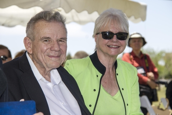 Philanthropists Lacy and Dorothy Harber put more than $100 million into renovating Wayne Newton's longtime residence Casa de Shenandoah into a museum, which opened to the public Friday. COURTESY
