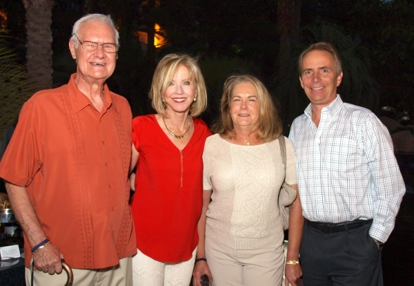 Ed Skonicki, from left, Patricia Morrissey, Susan Sullivan and Tom McCormick