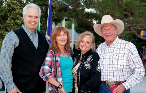 Bob and Melinda Brown, from left, and Bonnie and Frank Martin
