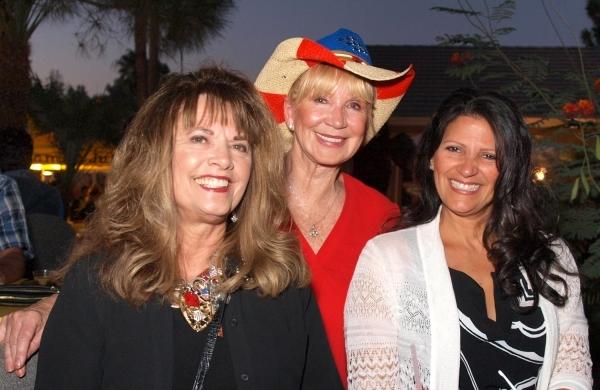 Carol Troesh, from left, Linda Smith and Elsa Troesh