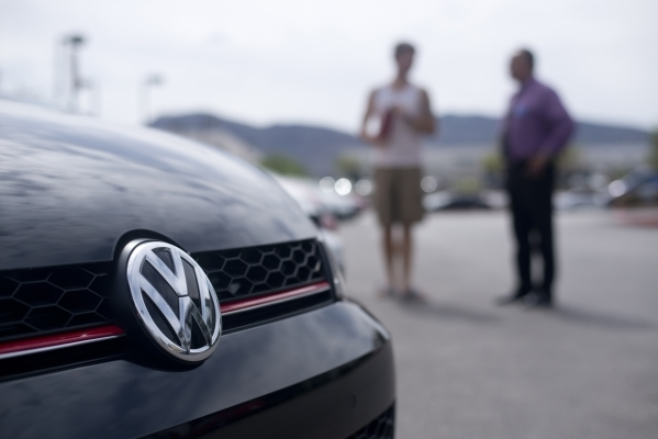 volkswagen diesel stop sale order hits las vegas dealers las vegas review journal