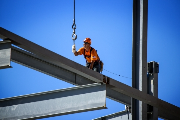 Construction continues on Topgolf near the Strip | Las Vegas