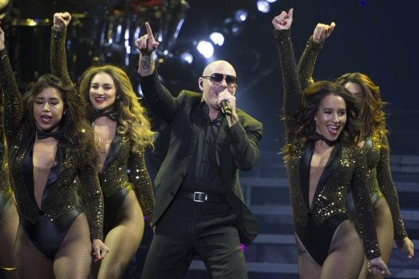 ff5697bb399 Pitbull performs during the first of a seven-date mini-residency entitled