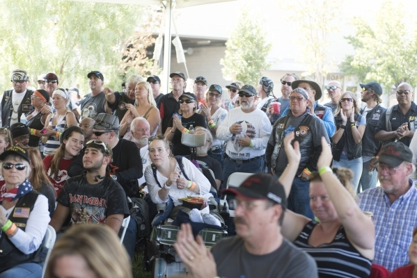 The audience is shown during the Ride for Kids benefit at Town Square Las Vegas in Las Vegas Sunday, Sept. 27, 2015. Jason Ogulnik/Las Vegas Review-Journal