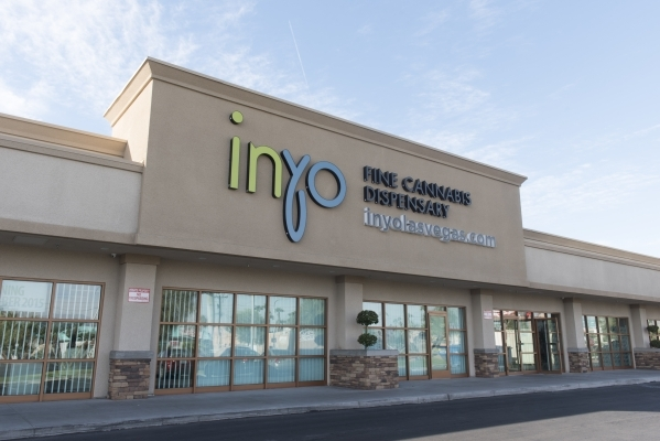 Inyo Fine Cannabis Dispensary at 2520 S. Maryland Parkway Suite #2 in Las Vegas is shown Wednesday, Sept. 30, 2015. Jason Ogulnik/Las Vegas Review-Journal