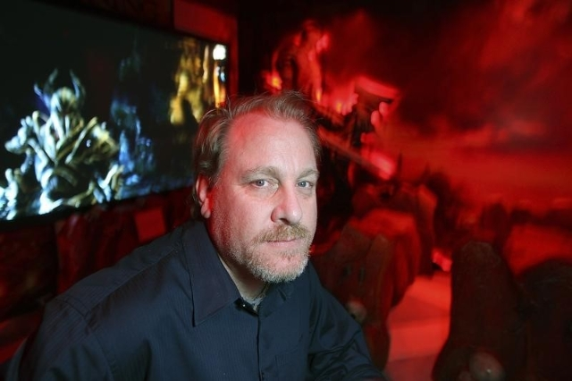 Former MLB player Curt Schilling poses in a game demonstration room at the Electronic Entertainment Expo, or E3, in this photo taken June 9, 2011 in Los Angeles, California. (David McNew/Reuters)