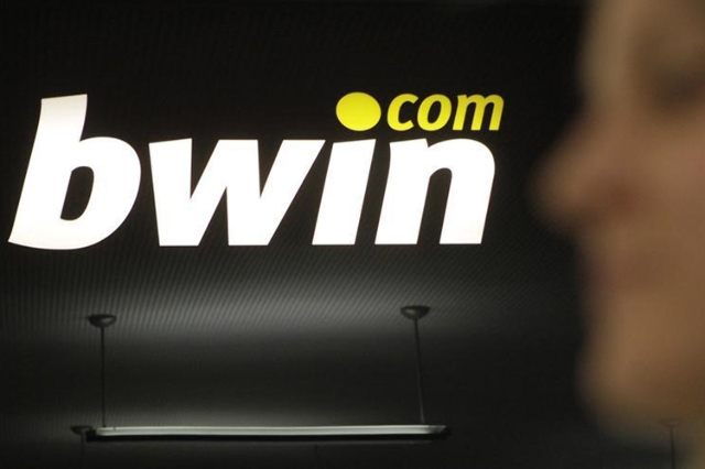 bwin Interactive Entertainment AG logo is pictured in Vienna July 29, 2010. (Herwig Prammer/Reuters)