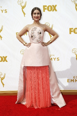 Actress and musician Joanna Newsom arrives at the 67th Primetime Emmy Awards in Los Angeles, California September 20, 2015. (Mario Anzuoni/Reuters)