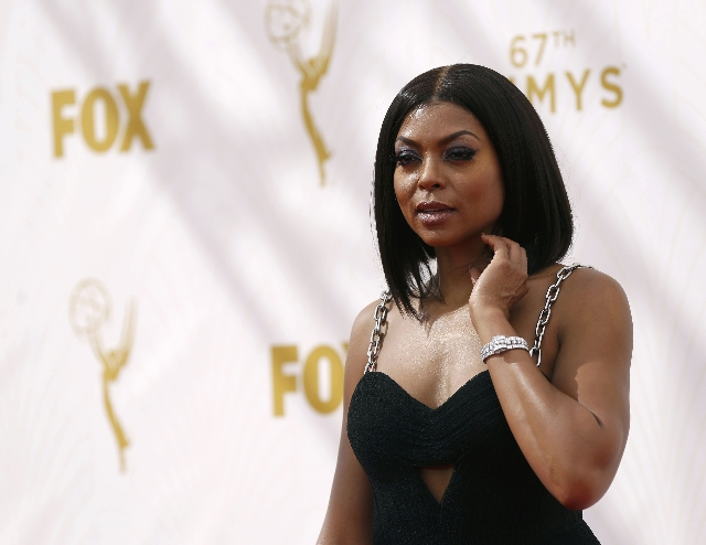Actress Taraji P. Henson arrives at the 67th Primetime Emmy Awards in Los Angeles, California September 20, 2015.  REUTERS/Mario Anzuoni