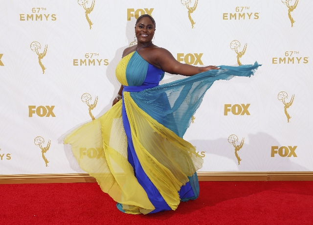 Actress Danielle Brooks poses as she arrives at the 67th Primetime Emmy Awards in Los Angeles, California September 20, 2015. Mario Anzuoni/Reuters)