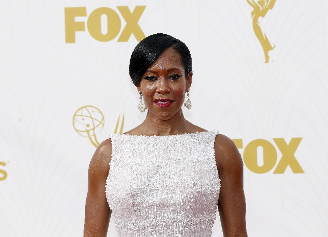 Actress Regina King arrives at the 67th Primetime Emmy Awards in Los Angeles, California September 20, 2015.  (Mario Anzuoni/Reuters)