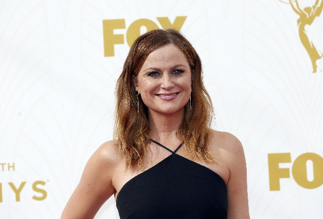 Actress Amy Poehler arrives at the 67th Primetime Emmy Awards in Los Angeles, California September 20, 2015. (Mario Anzuoni/Reuters)