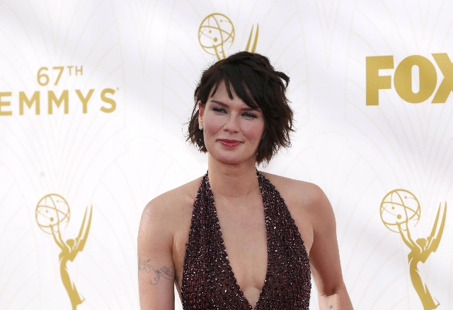 Actress Lena Headey arrives at the 67th Primetime Emmy Awards in Los Angeles, California September 20, 2015.  REUTERS/Mario Anzuoni
