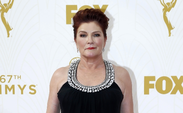 Actress Kate Mulgrew arrives at the 67th Primetime Emmy Awards in Los Angeles, California September 20, 2015.  REUTERS/Mario Anzuoni