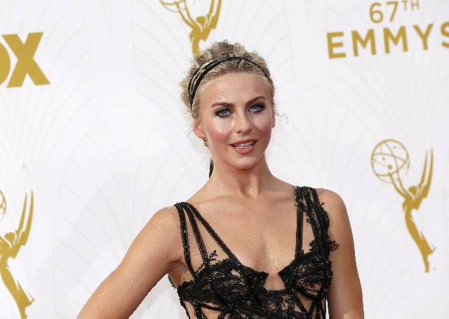 Actress and dancer Julianne Hough arrives at the 67th Primetime Emmy Awards in Los Angeles, California September 20, 2015.  REUTERS/Mario Anzuoni