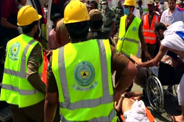 Hundreds killed in Hajj stampede (Reuters/NDN)