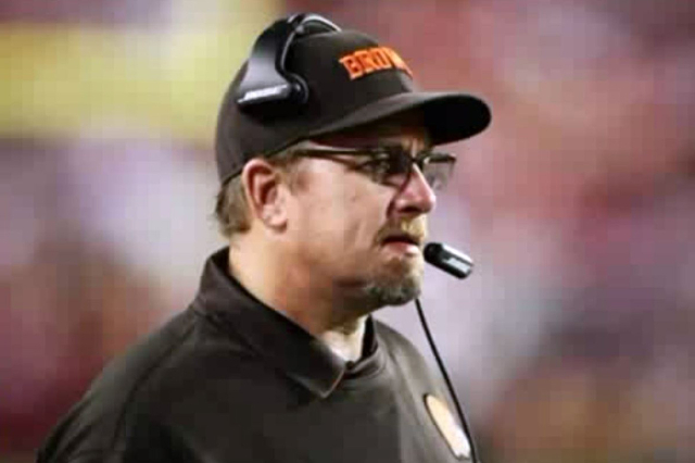 Cleveland Browns offensive line coach Andy Moeller (Screengrab/WJW - Cleveland, OH/NDN)