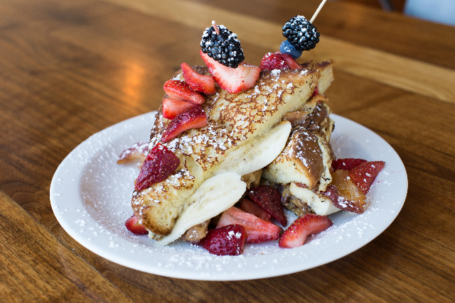 The Fat Elvis is shown at MTO Cafe. (Las Vegas Review-Journal)