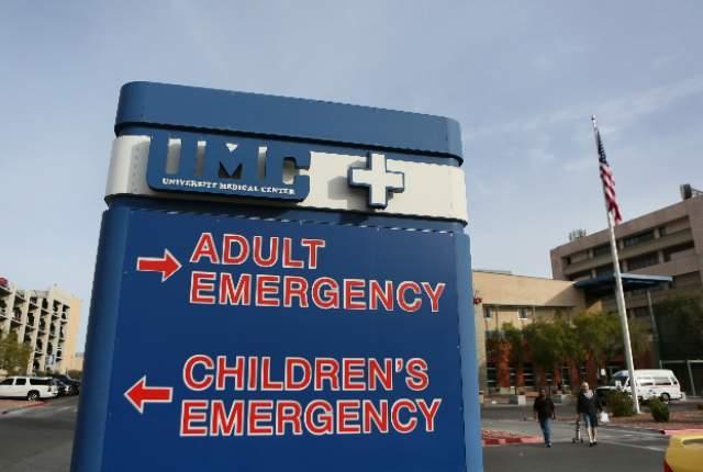 University Medical Center (Ronda Churchill/Las Vegas Review-Journal)