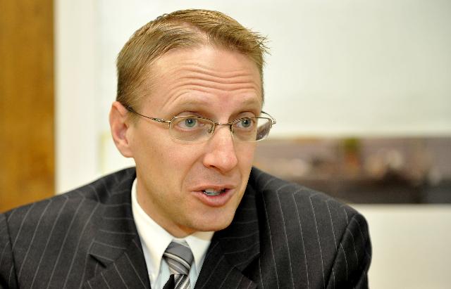 District Judge Joe Hardy, Jr.  (Mark Damon/Las Vegas Review-Journal File)