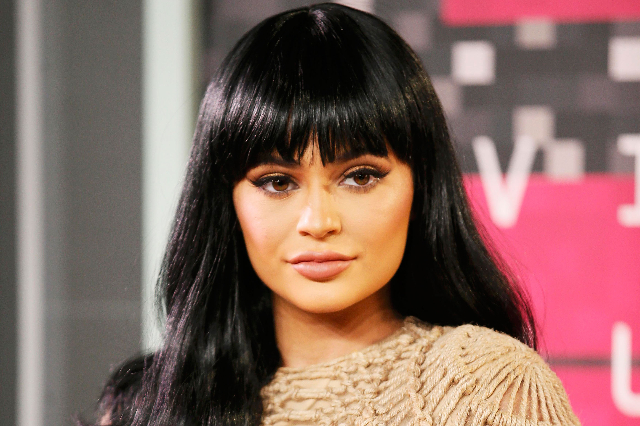 Reality television star Kylie Jenner arrives at the 2015 MTV Video Music Awards in Los Angeles, California, Aug. 30, 2015. (Danny Moloshok/Reuters)