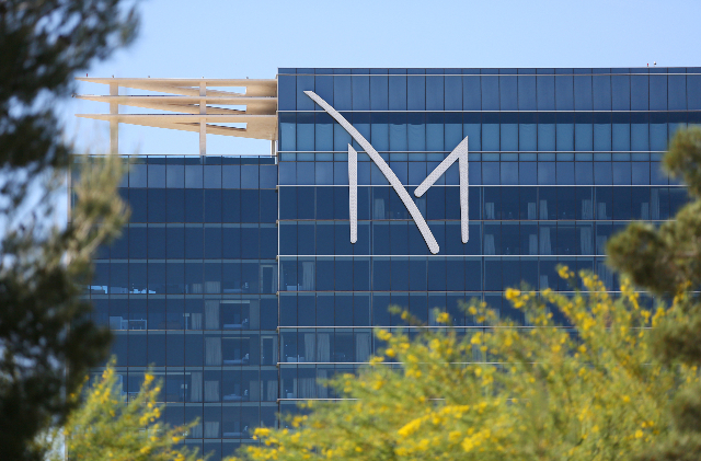 M Resort, 12300 Las Vegas Blvd. South, is shown April 13, 2015. The hotel-casino is owned by Penn National Gaming. (Ronda Churchill/Las Vegas Review-Journal)