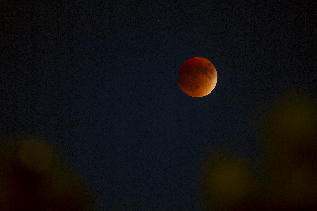 Super moon eclipse Sunday, Sept. 27, 2015  (Will D'angelo)