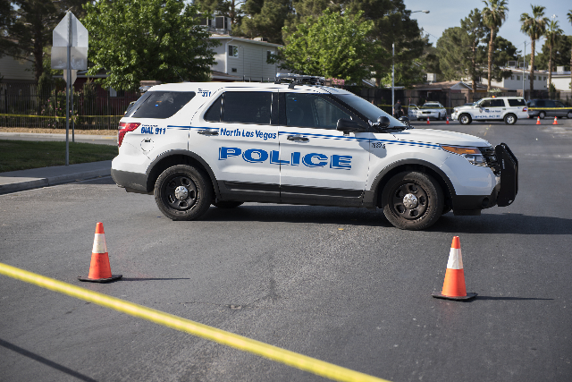North Las Vegas Police (Martin S. Fuentes/Las Vegas Review-Journal)