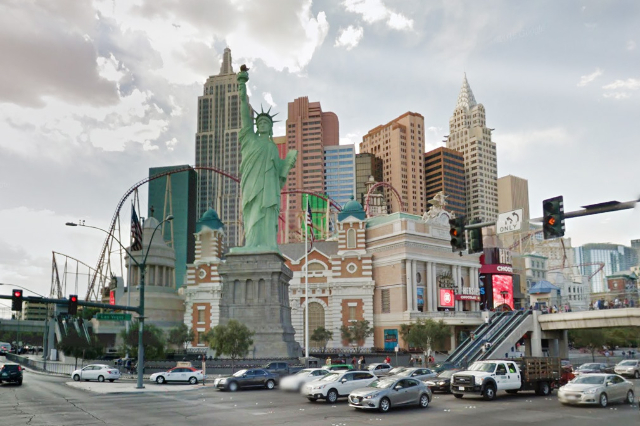 Tropicana and Las Vegas Blvd. (Google Street View)