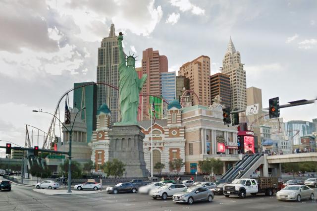 Tropicana and Las Vegas Blvd. (Google Street View)