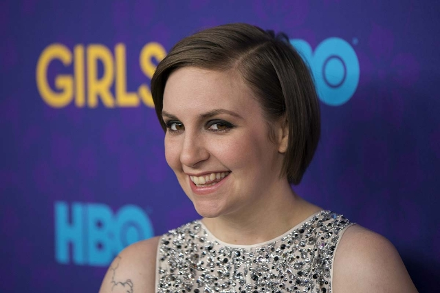 Creator of the HBO show Girls Lena Dunham arrives for the premiere of the third season of the show in New York January 6, 2014. (Lucas Jackson/Reuters)